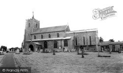 Somersham, Church Of St John The Baptist c.1965