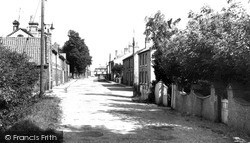 Somersham, Church Street c.1960