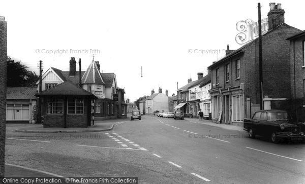 Photo of Somersham, High Street c1965