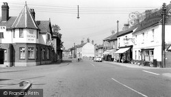 Somersham, The Cross c.1960