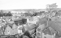 Somerton, From The Church Tower c.1955
