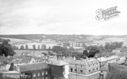 Somerton, From The Church Tower c.1960