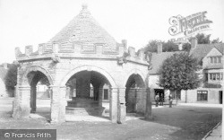 Somerton, Market Cross From South East 1904