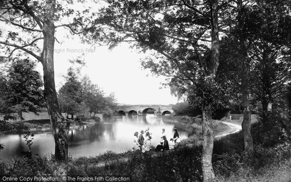 Sonning, Bridge c1877