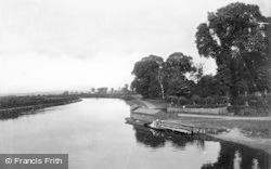 Sonning, From The Bridge 1890