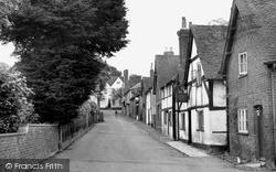 Sonning, High Street c.1955