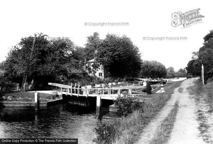 Sonning, Lock 1890