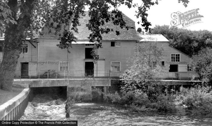 Sonning,the Mill c1955,Berkshire
