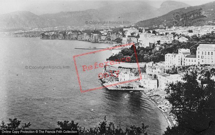 Photo of Sorrento, Marina Grande c.1920