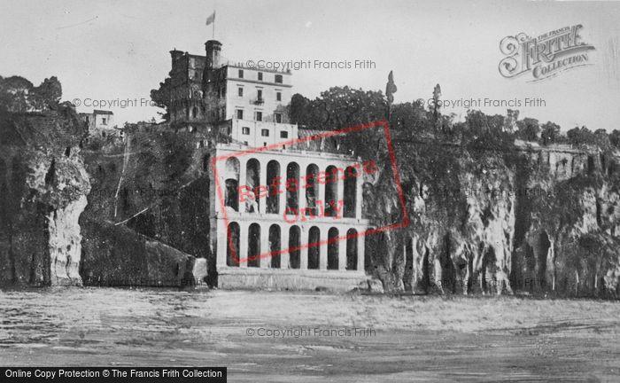 Photo of Sorrento, Mr Crawford's Villa c.1920