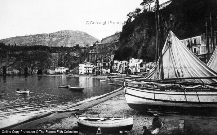 Photo of Sorrento, Porto Di Marina Cassano c.1920
