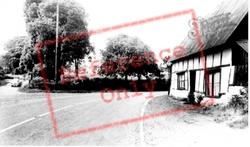 Church Corner c.1955, Soulbury