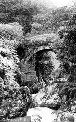 Lydia Bridge c.1890, South Brent