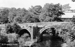South Brent, The Old Bridge c.1960