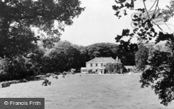 South Brent, The Vicarage c.1960