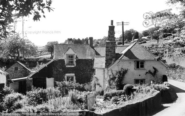 South Brent, view from Lydia Bridge c1960