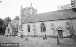 South Cerney, All Hallows Church c.1960