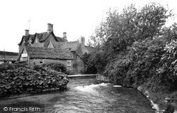 South Cerney, The River Churn c.1967