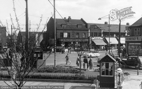 Photo of South Chingford, Albert Crescent c.1955