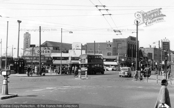 Photo of South Chingford, Albert Crescent c.1955
