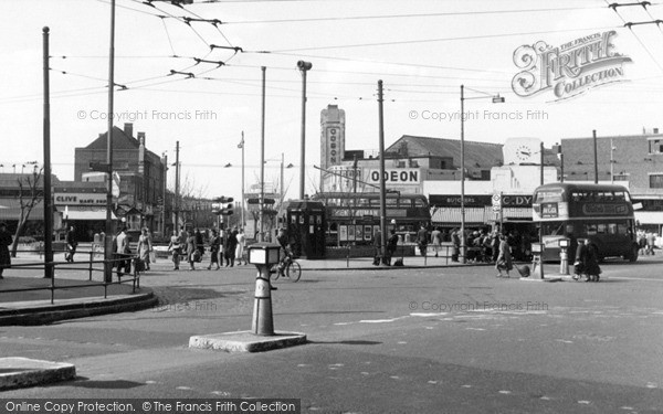 Photo of South Chingford, Albert Crescent c1955