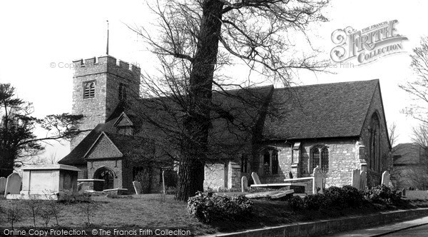 Photo of South Chingford, All Saints Church c.1955