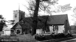 South Chingford, All Saints Church c.1955