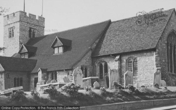 Photo of South Chingford, All Saints Church c.1955