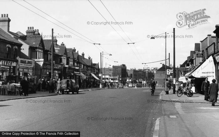 Photo of South Chingford, Chingford Mount Road c.1955