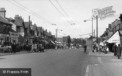 South Chingford, Chingford Mount Road c.1955