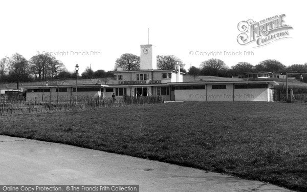 Photo of South Chingford, Larkswood Pool c.1955