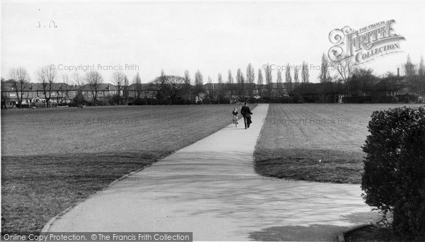 Photo of South Chingford, Memorial Recreation Ground c.1955