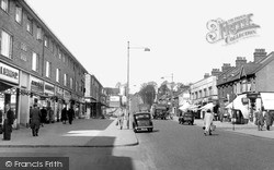 South Chingford, Old Church Road c.1955