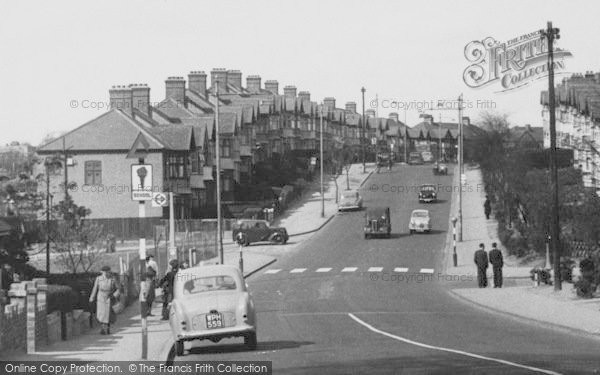 Photo of South Chingford, Old Church Road c.1955