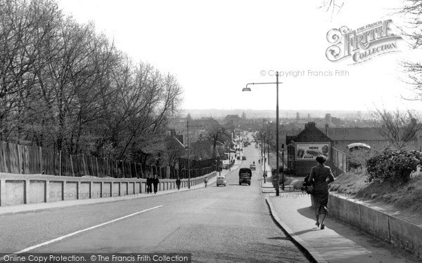 Photo of South Chingford, Old Church Road From Chingford Mount c.1955