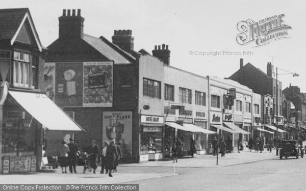 Photo of South Chingford, Shopping On Old Church Road c.1955