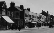 South Chingford, Shopping on Old Church Road c1955