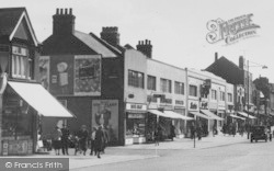 South Chingford, Shopping On Old Church Road c.1955