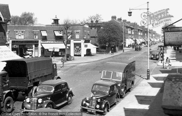 Photo of South Ealing, South Ealing Road c.1955