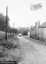 South Ferriby, School Lane c.1950