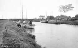South Ferriby, The Lock c.1955