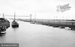 South Ferriby, The River Ancholme c.1955