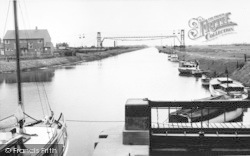 South Ferriby, The River Ancholme c.1965
