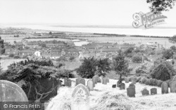 South Ferriby, The River Humber And Read's Island c.1965