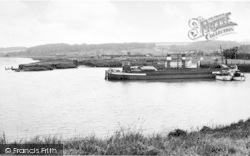South Ferriby, The Sluice Haven With General View c.1965