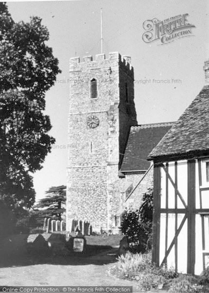 Photo of South Fleet, St Nicholas Church c.1960