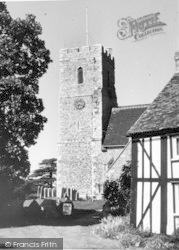 South Fleet, St Nicholas Church c.1960, Southfleet