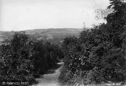 South Godstone, View From Tilburstow Hill 1908
