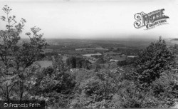 South Harting, General View From The Downs c.1960