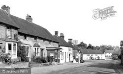 South Harting, High Street c.1955